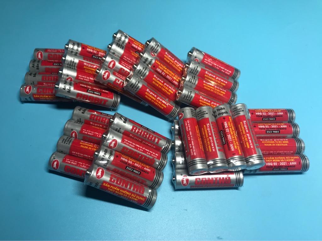 Pin tiểu AA 1.5V 1 hộp 40 viên