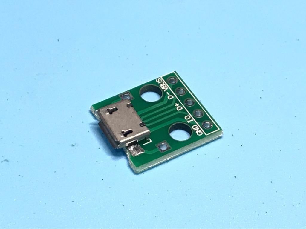 Bo mạch giắc micro USB