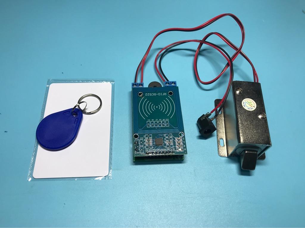 Bộ khóa cửa điện chống trộm bằng thẻ từ RFID bảo mật tốt