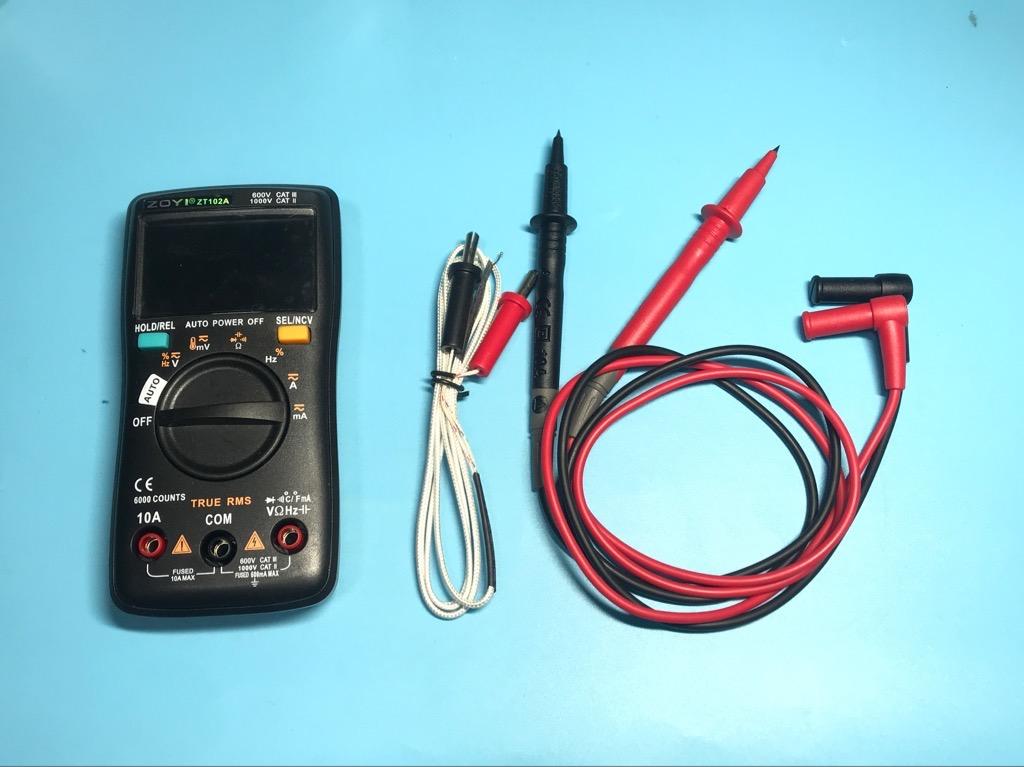 Đồng hồ vạn năng đo điện ZoYi