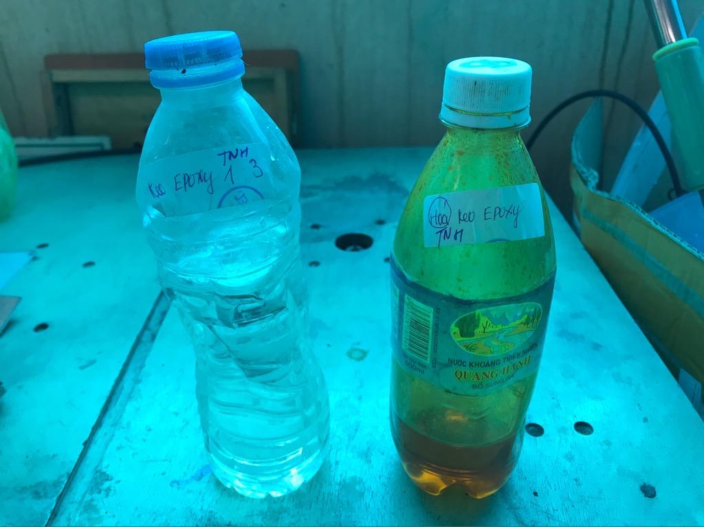 Keo nhựa Epoxy resin tạo khối