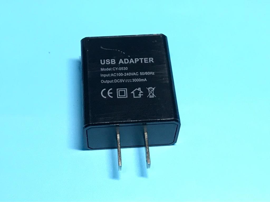 Củ nguồn sạc Raspberry Pi 5V 3A tiêu chuẩn Mỹ giao tiếp USB