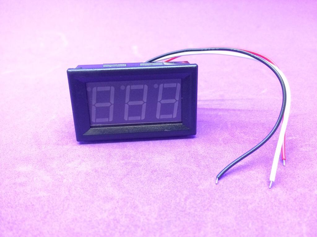 Led đo điện áp DC 0V - 100V 3 dây 0,56 inch