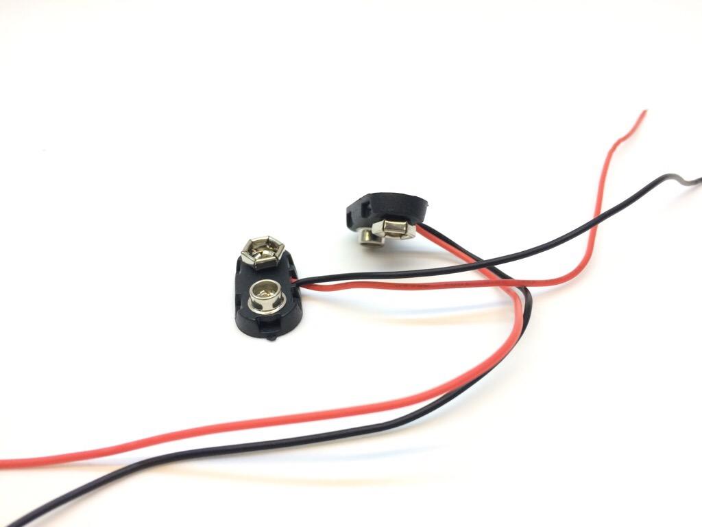 đầu nối pin 9V