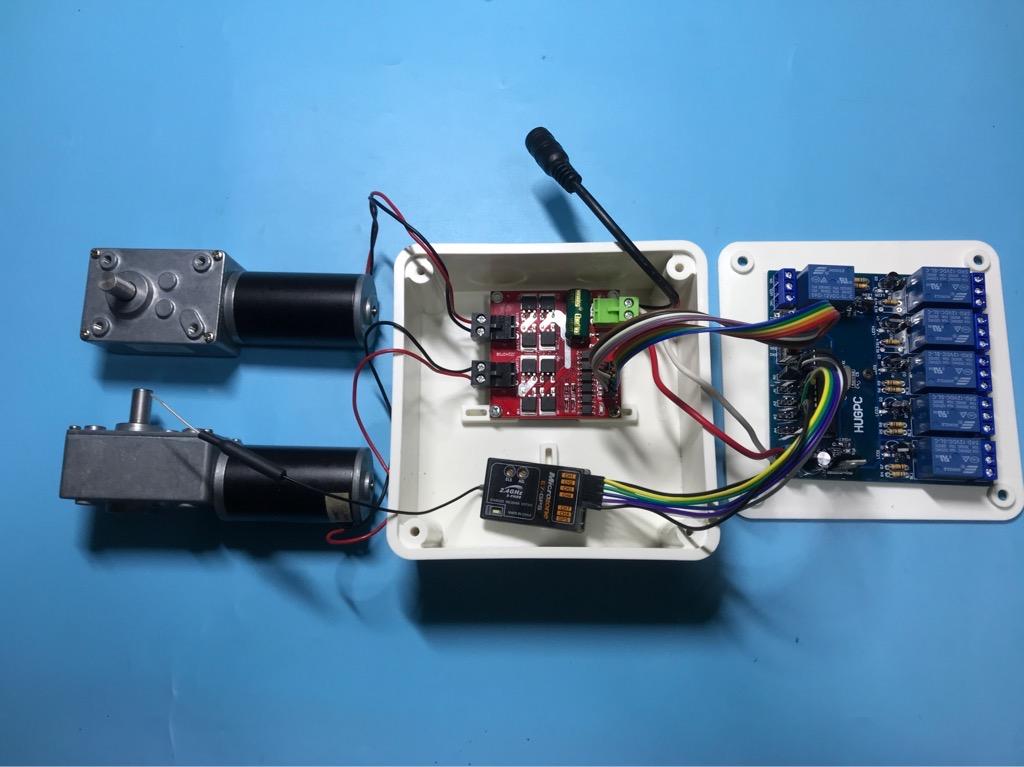 Bộ điều khiển động cơ DC từ xa dùng tay khiển máy bay RC