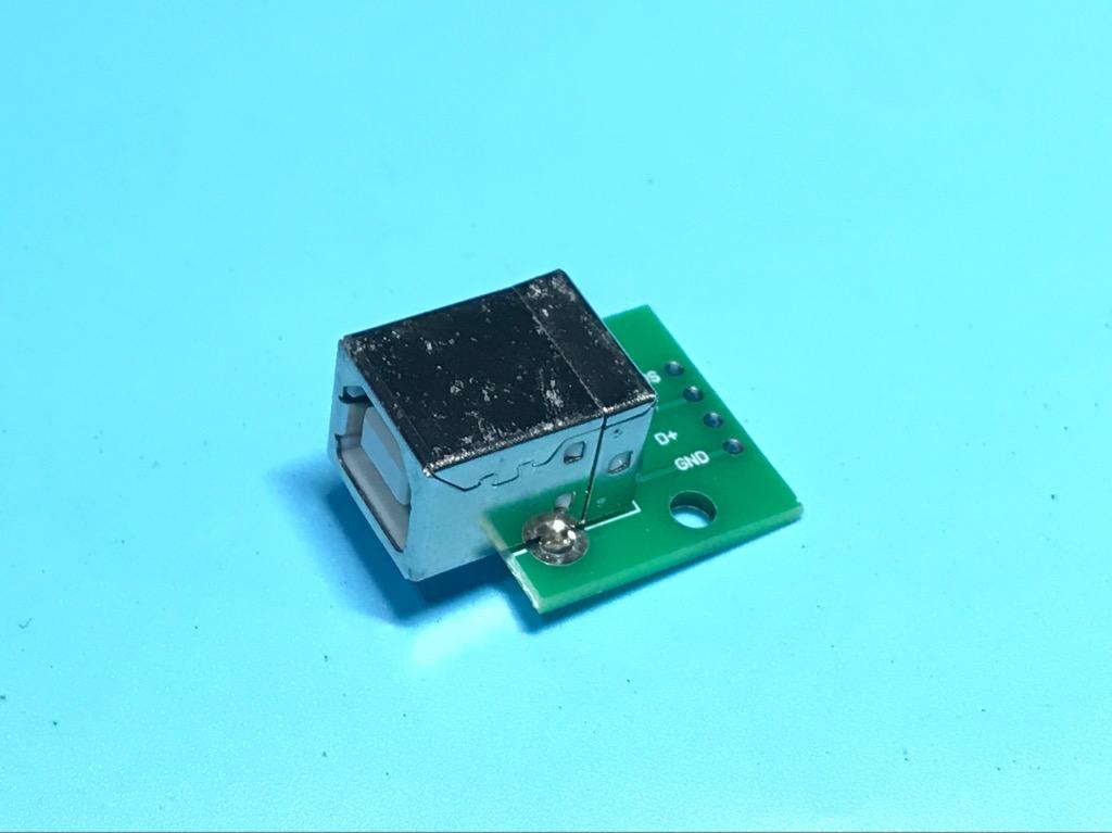 Bo mạch giắc USB giao diện vuông loại B kết nối dữ liệu