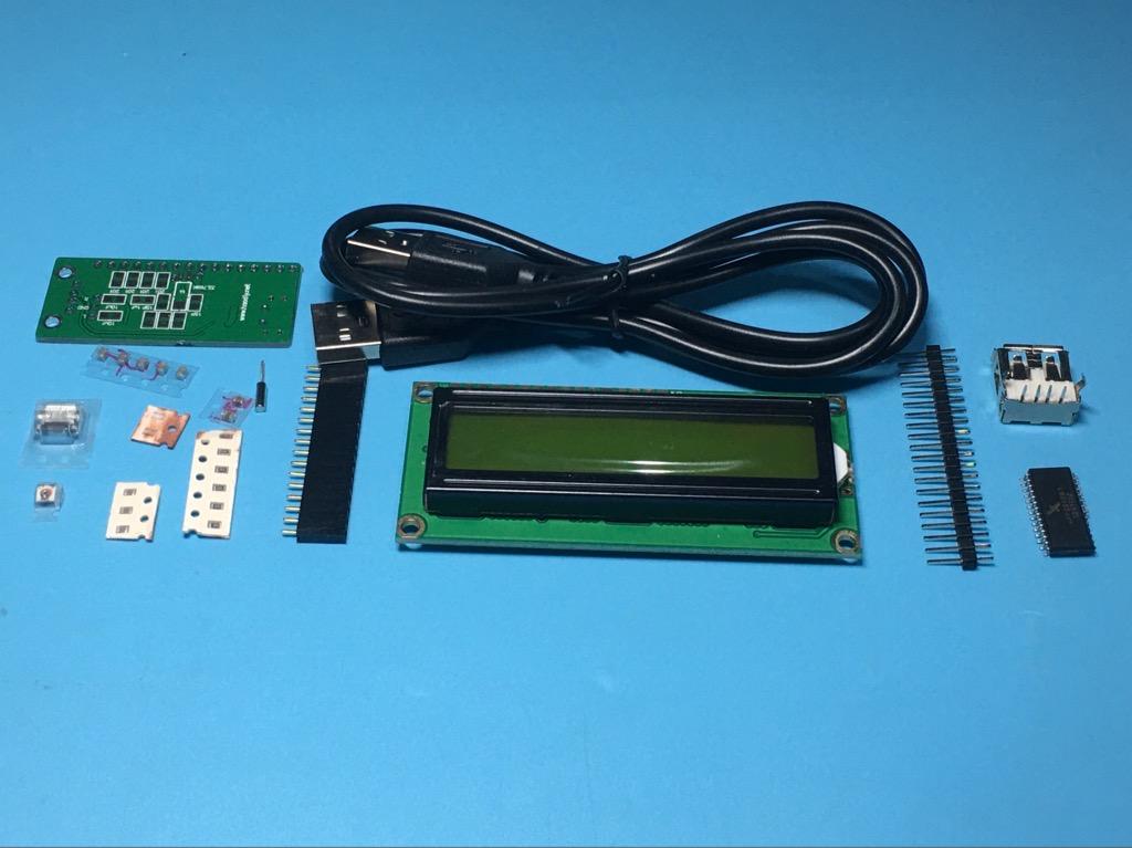 Module Led hiển thị CPU Ram máy tính kết nối USB