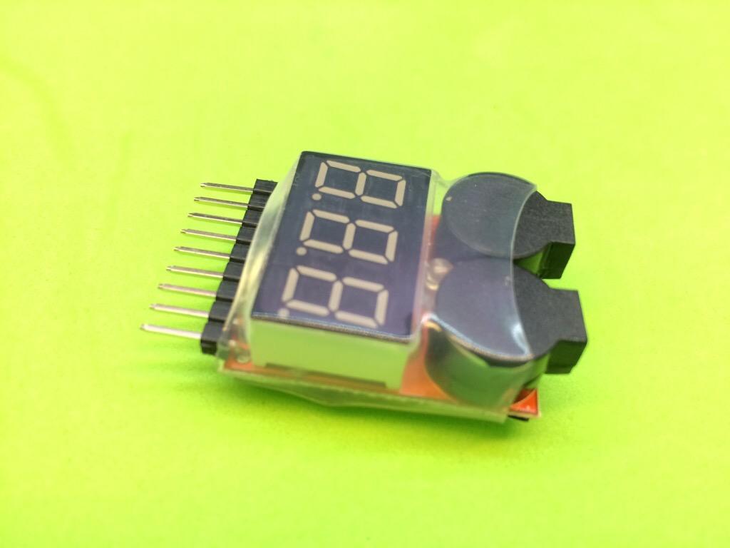 Module đo pin lithium từ 1S 2S 3S đến 8S máy bay