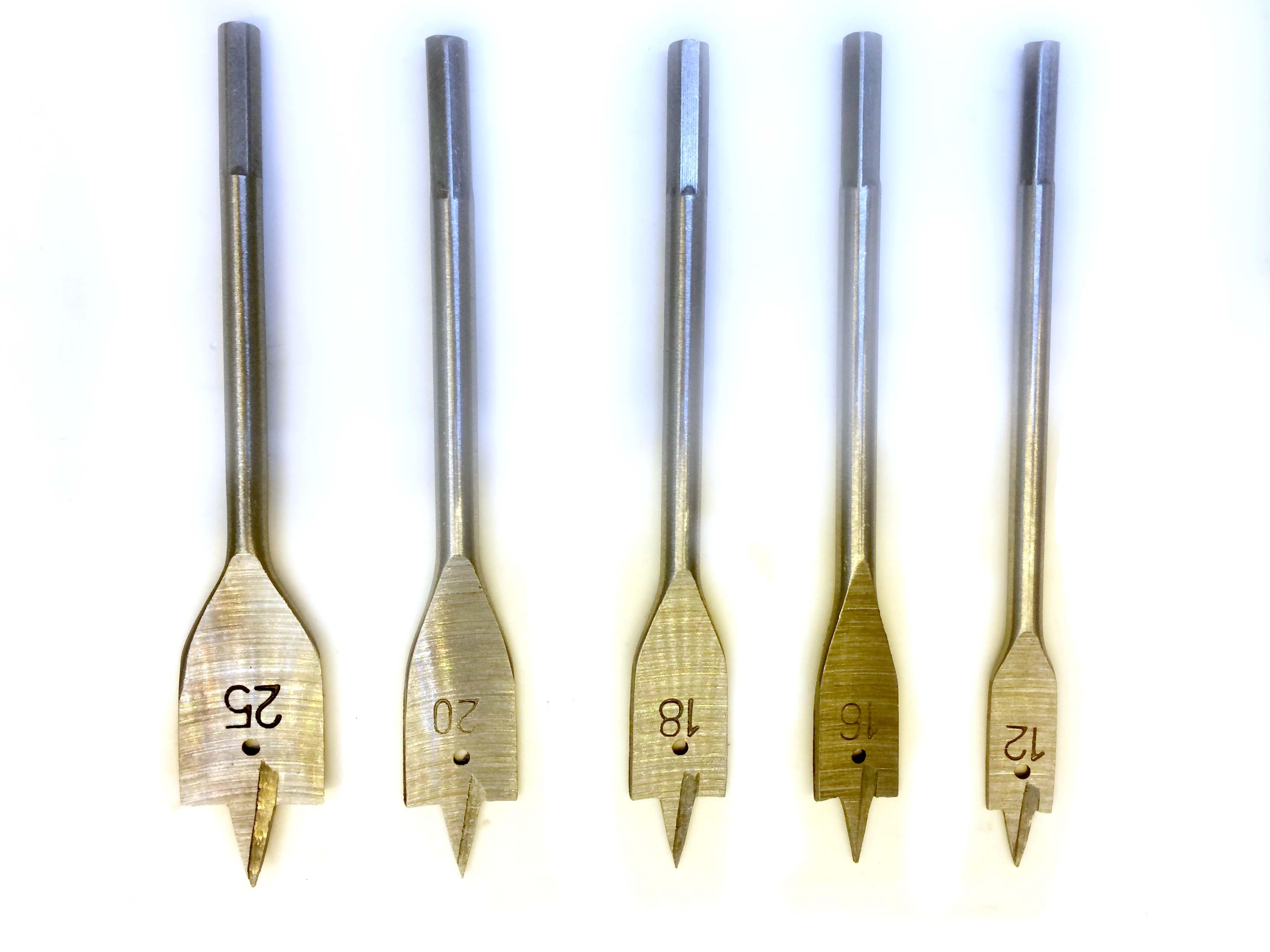 Bộ 5 mũi khoan tạo đầu âm ốc bằng