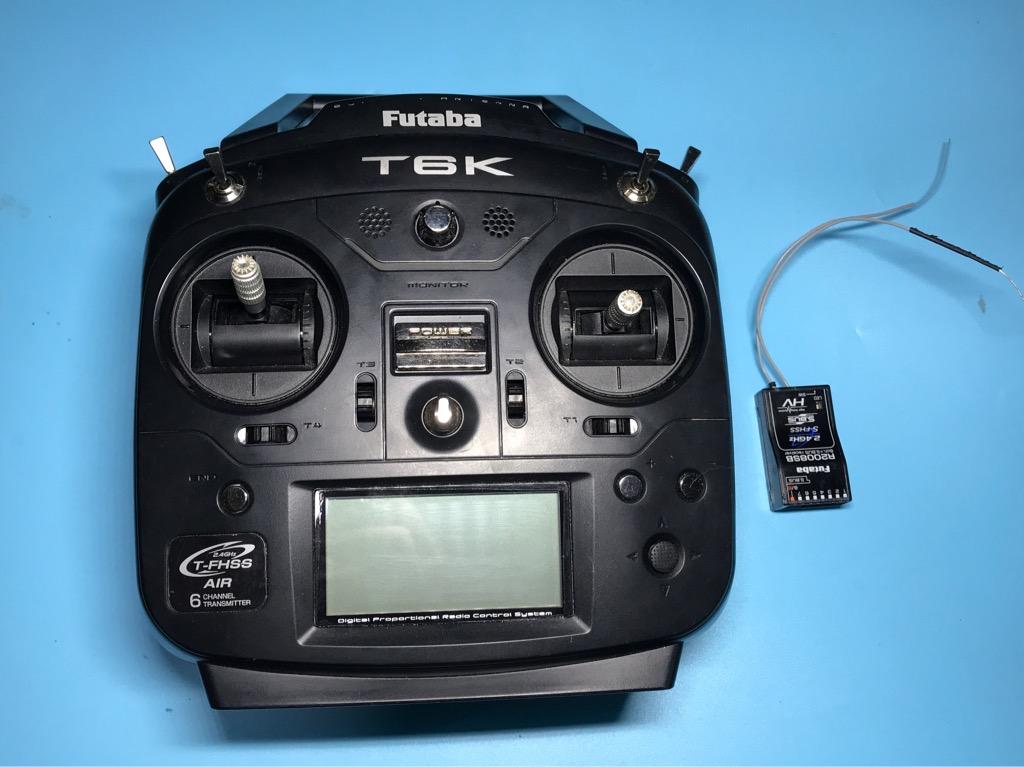 Tay khiển RX TX Futaba T6K 2008SB 8 kênh