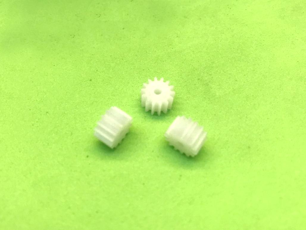 Bánh răng nhựa trục 2mm