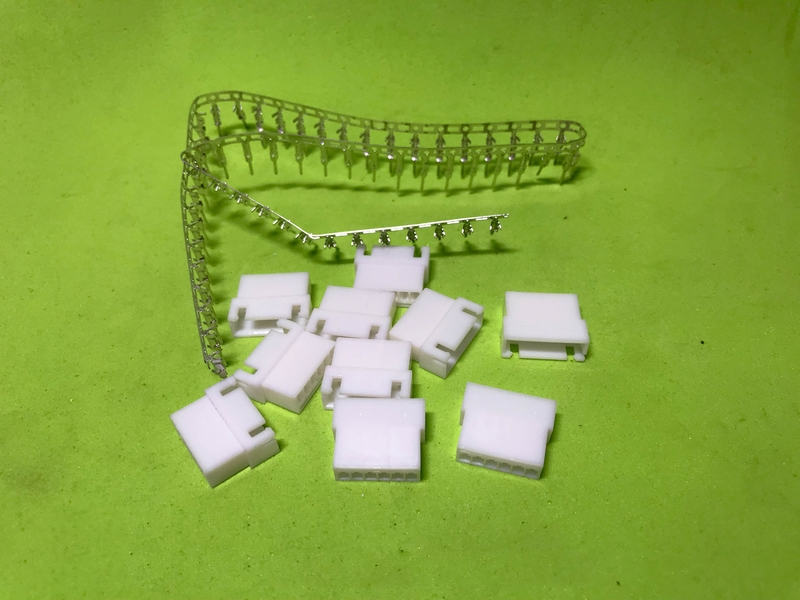 Bộ giắc nối 6P đực cái tự bấm