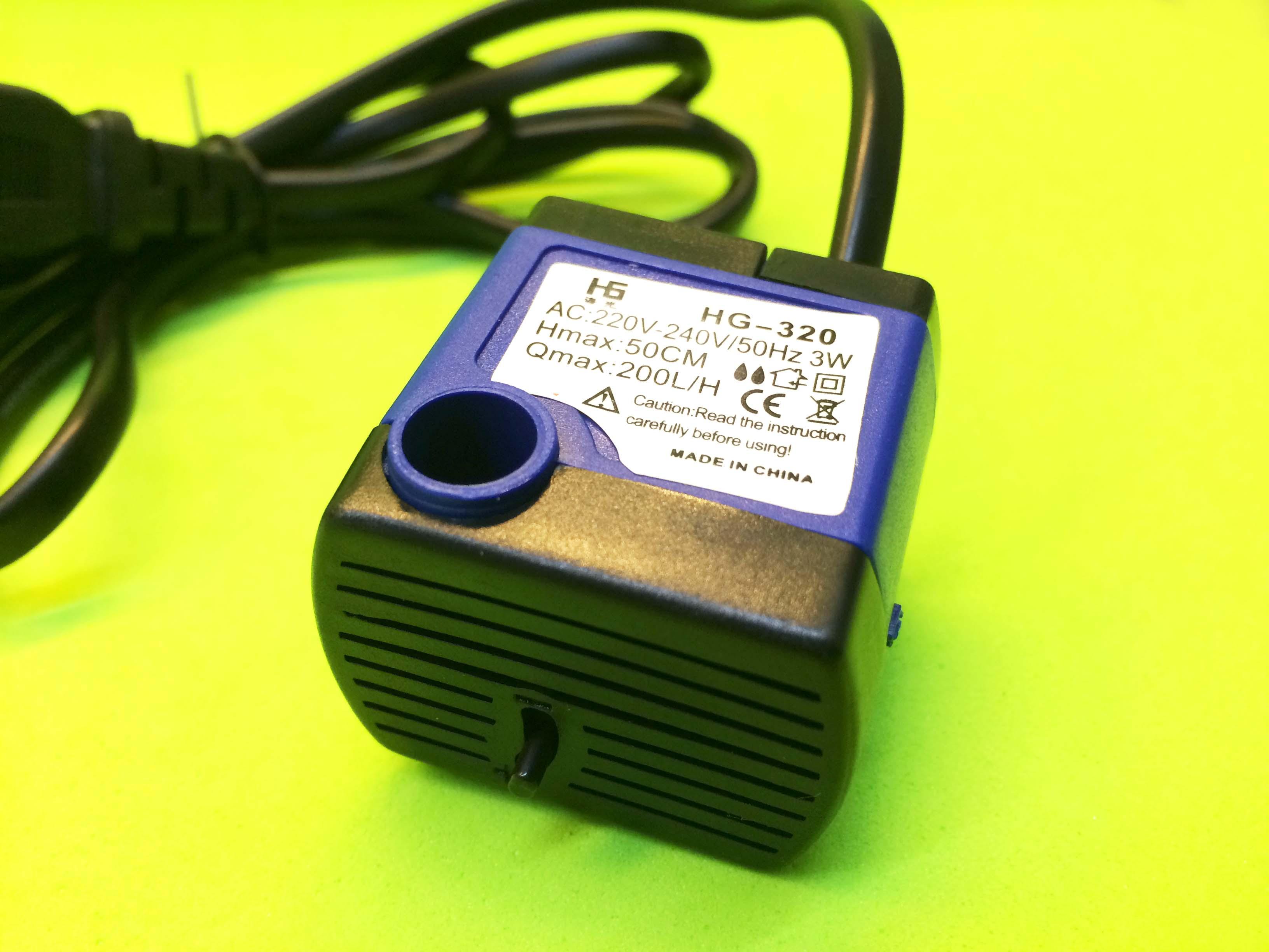 Bơm nước mini 3W 220V