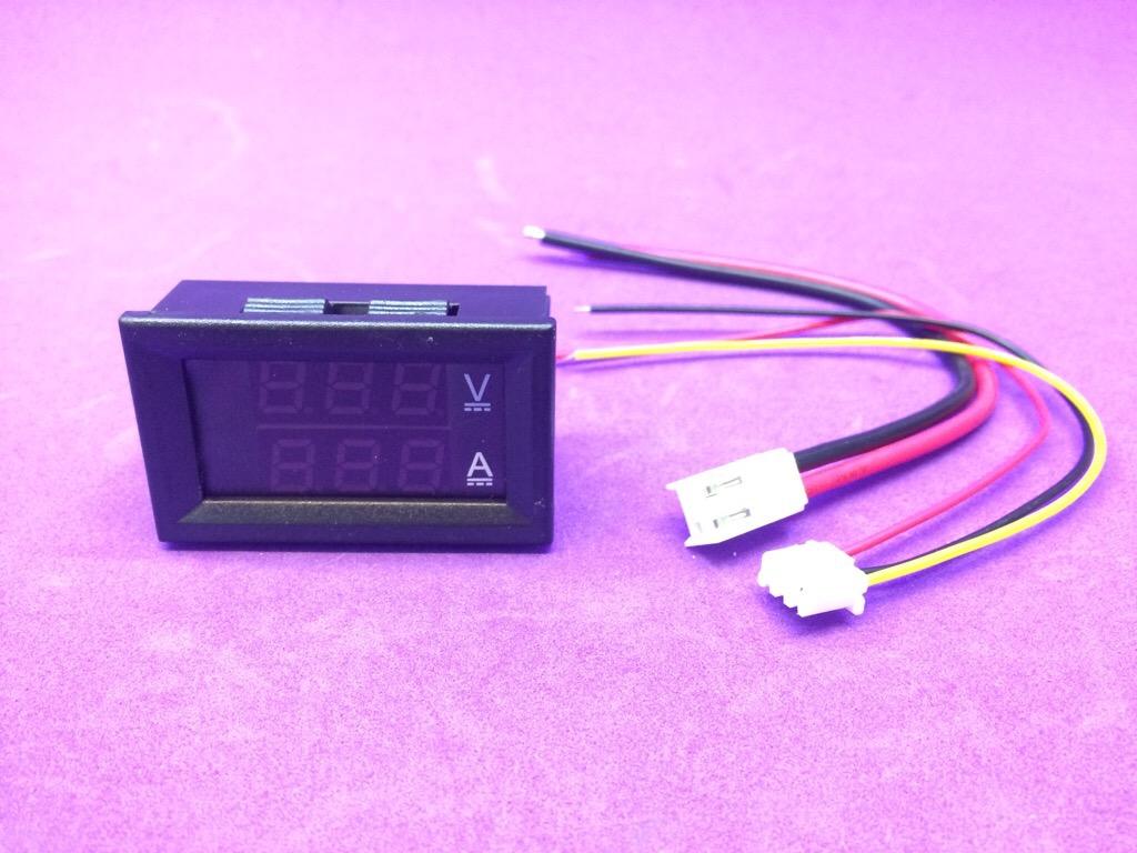 Led đo U-I DC 0V - 100V 10A 0,56 inch