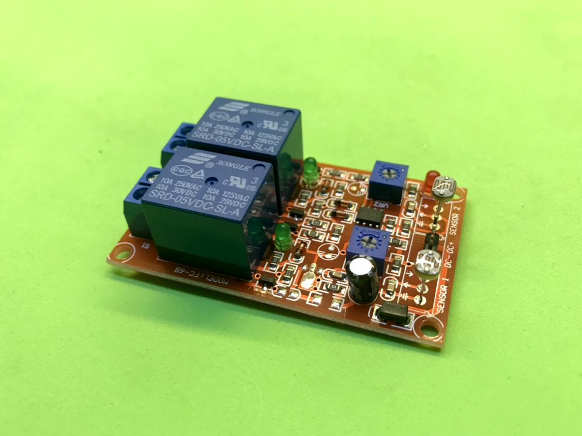 Cảm biến ánh sáng có 2 relay 5V