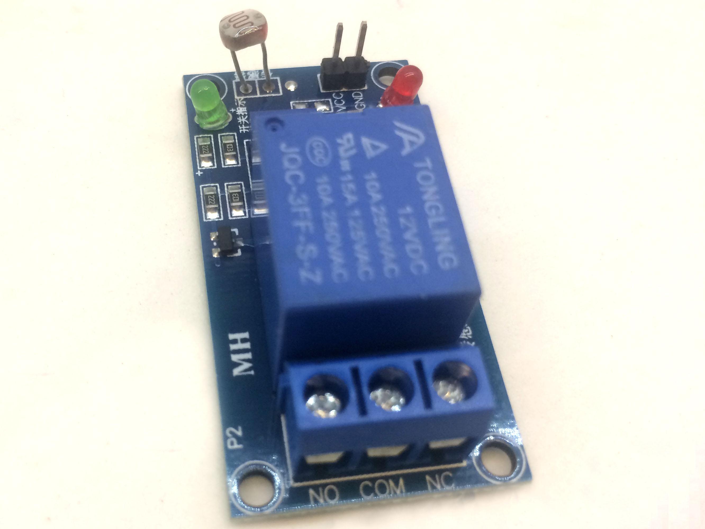 Cảm biến ánh sáng có relay 5V