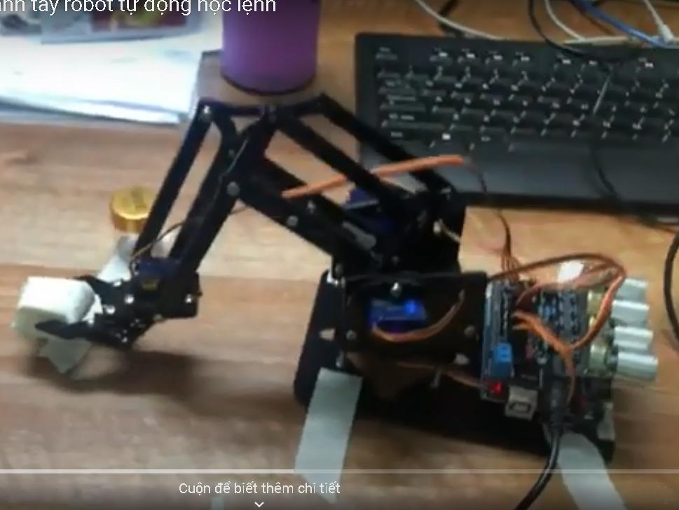 Cánh tay Robot tự học lệnh kit ABB