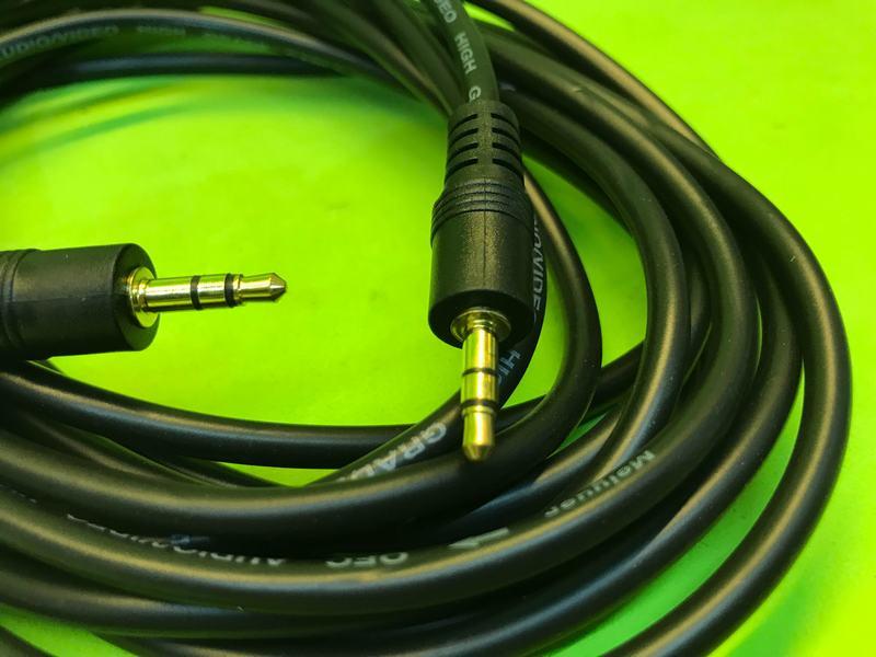 Cáp nối âm thanh đực đực 3.5mm 5 mét