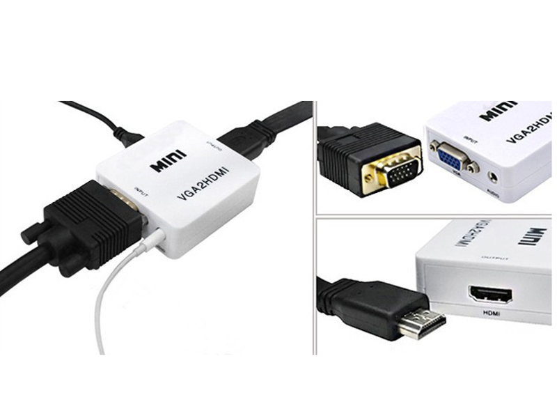 Chuyển đổi VGA sang HDMI