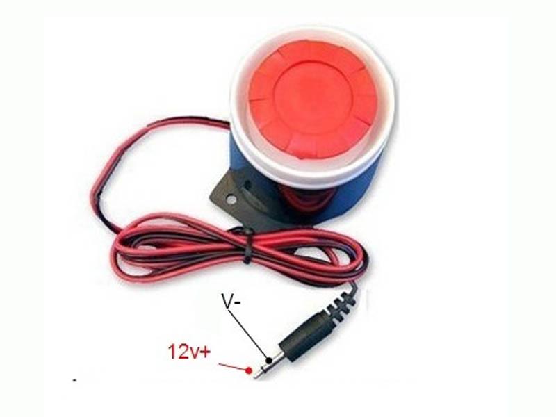 Còi báo động đỏ decibel SFB-55 DC12V