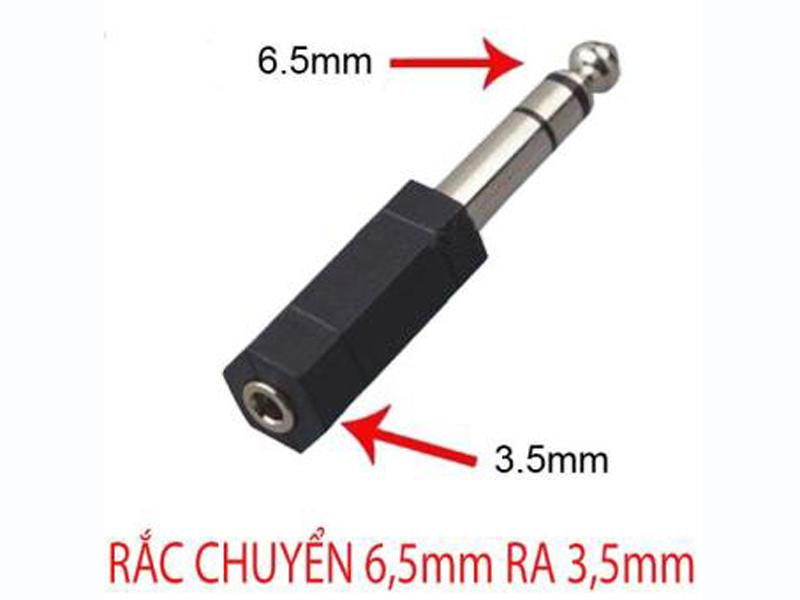 Đầu chuyển đổi âm thanh 6.5mm sang 3.5mm
