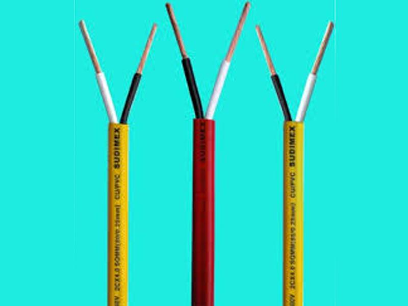 Dây điện đôi 1.5mm vỏ bọc (m)