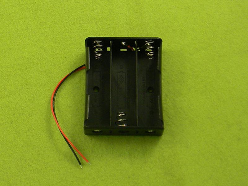 Đế pin 3.7V-3 pin nối tiếp