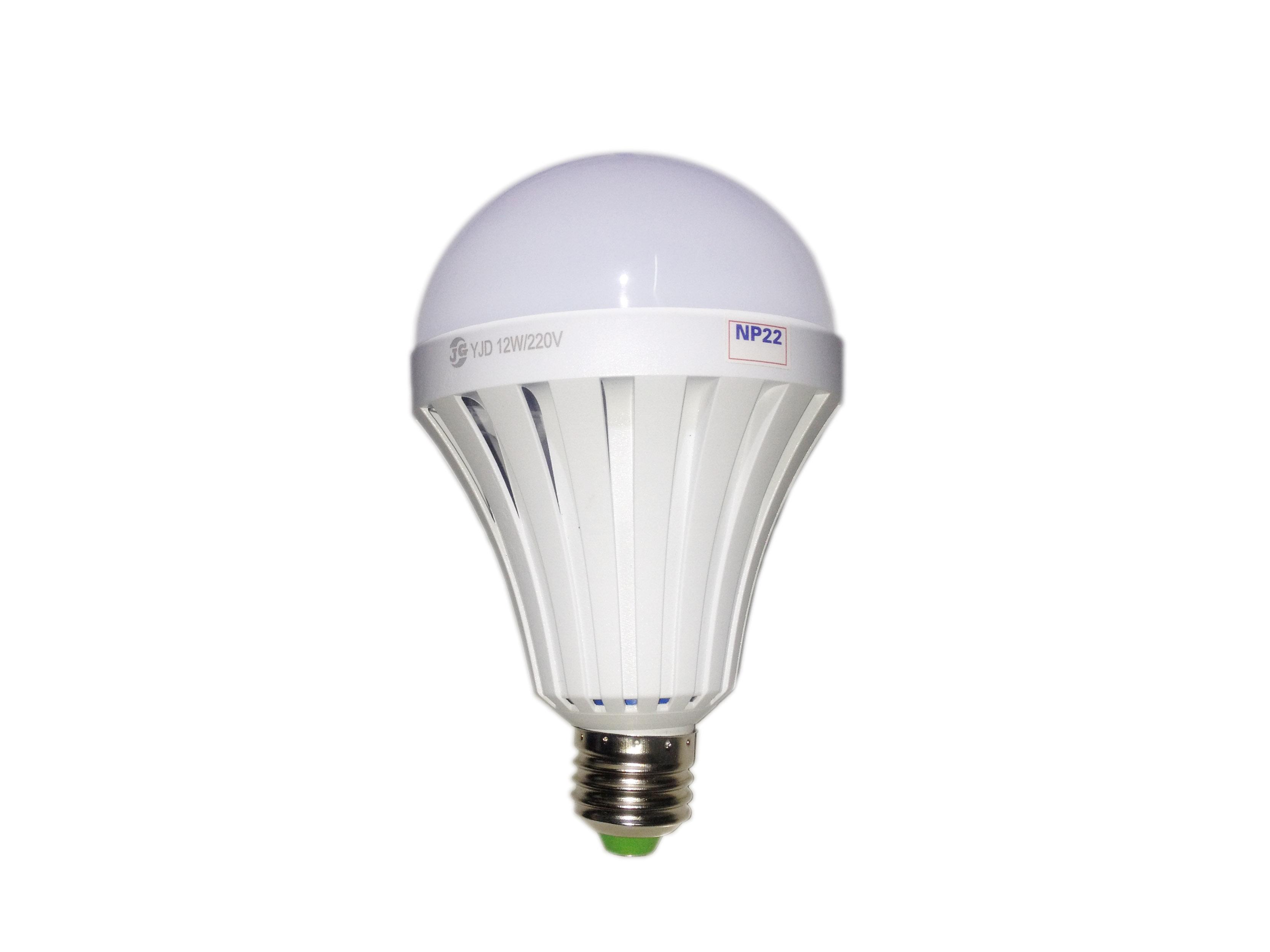 Đèn led 12W - 220V (có Pin sạc tích điện