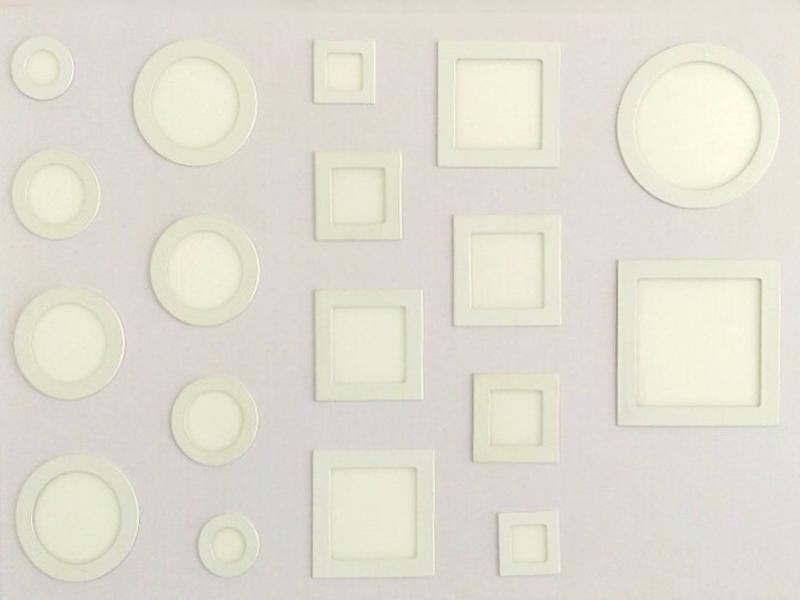 Đèn LED ốp nổi tròn