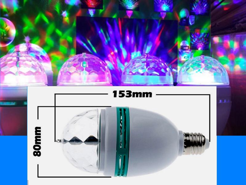 Đèn Led tạo màu ma quái 3W chiếu xa từ 30-50m2