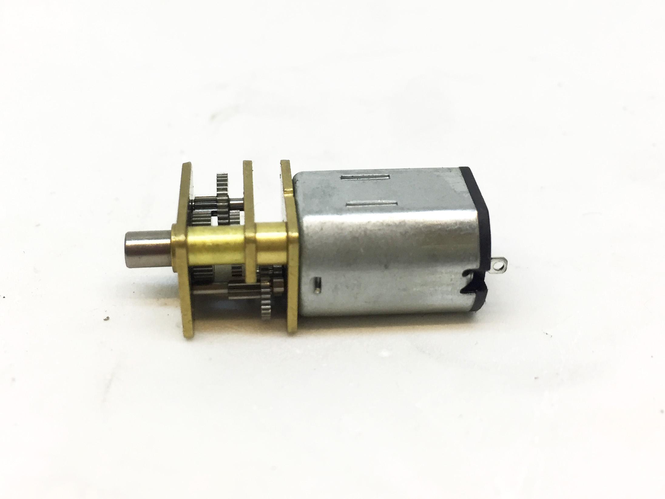 Động cơ giảm tốc 6V 52 vòng-12V 105 vòng
