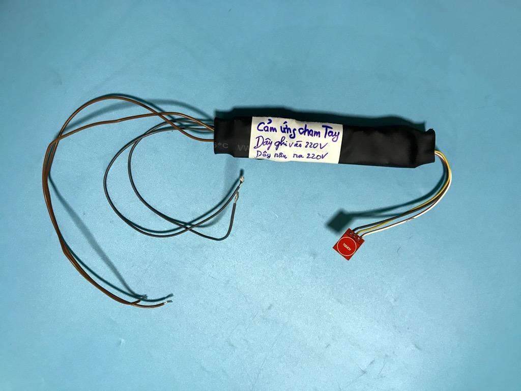 Công tắc bật tắt đèn thông minh bằng cảm ứng 10A 5V 12V 220V