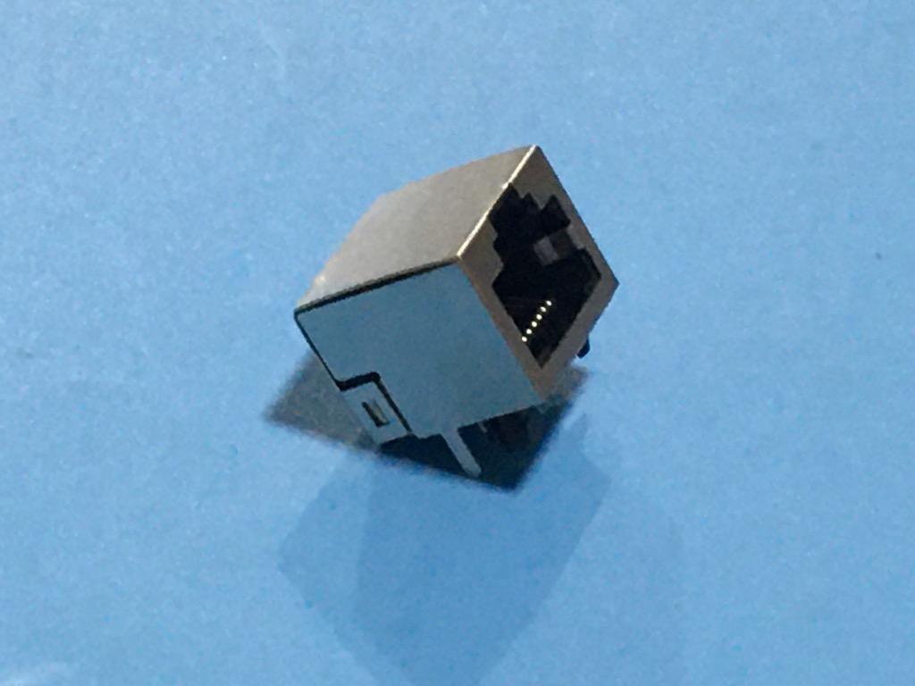 Đầu Giắc mạng Rj45 8p chân hàn có đèn