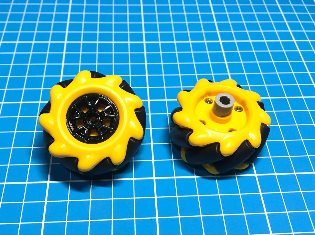 Bánh xe omni ô tô 48mm đồ chơi xe robot