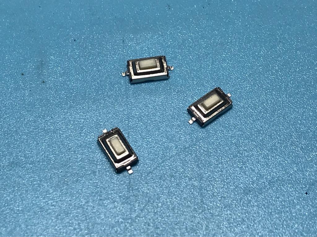 Nút nhấn SMD micro 3 x 6 x 2,5mm 10 cái