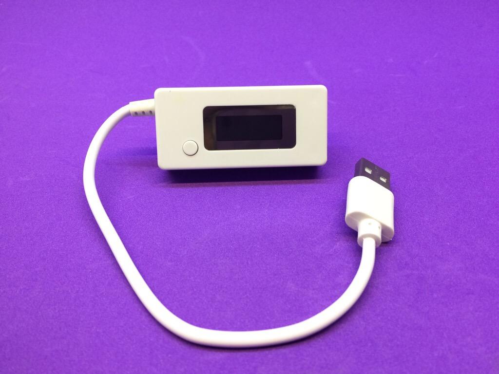 USB đo U,I, dung lượng pin KCX-017