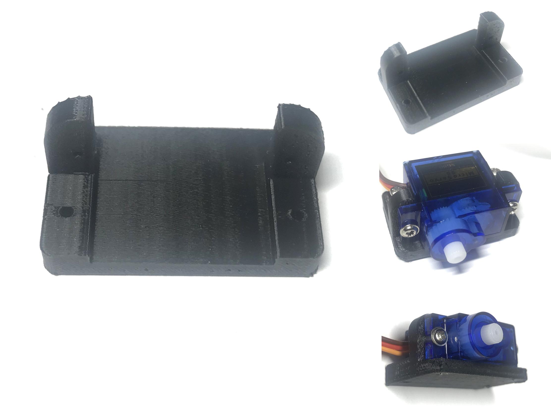 Gá đỡ servo SG90 xanh