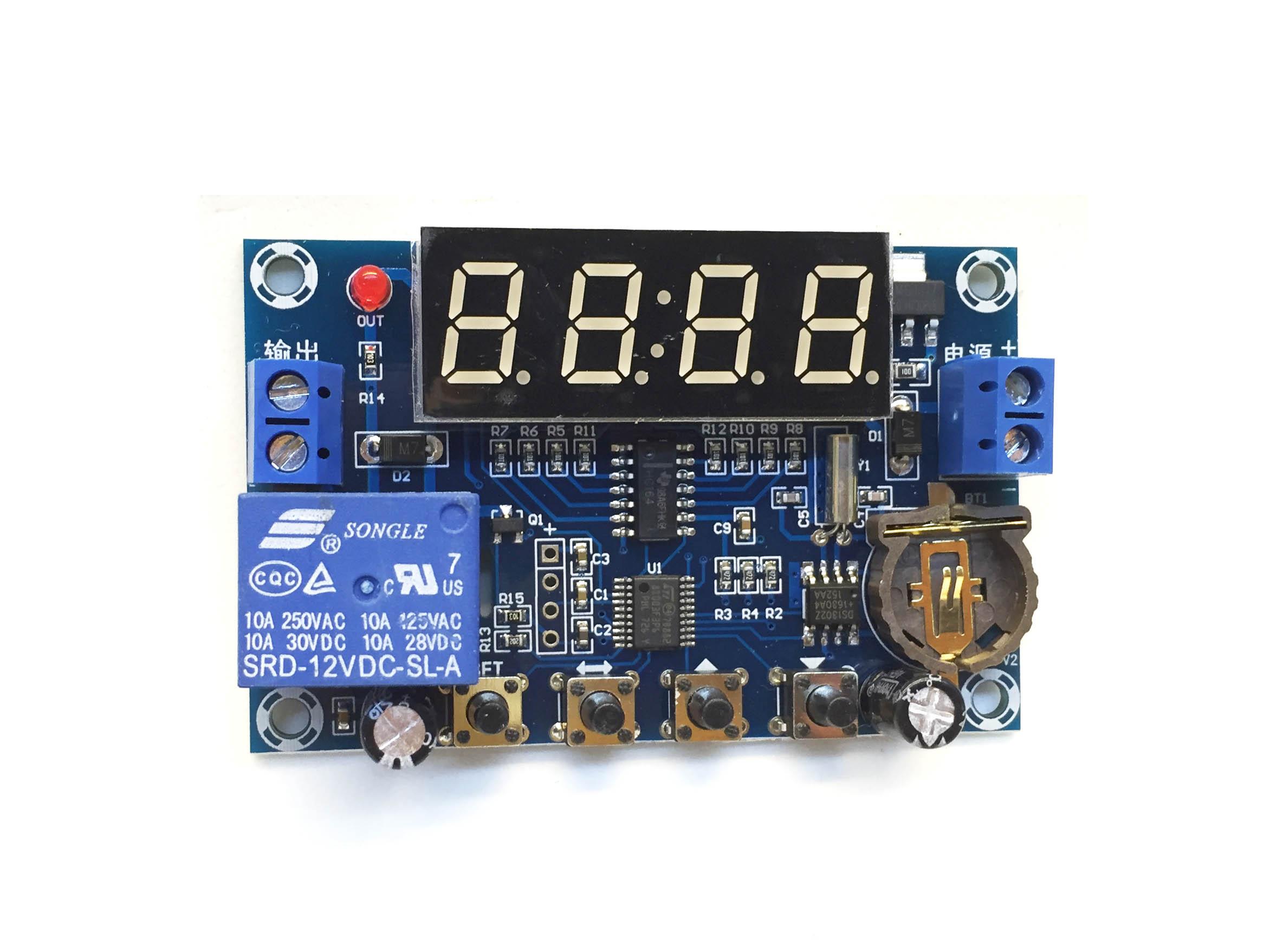 Hẹn giờ theo thời gian thực XH-M196