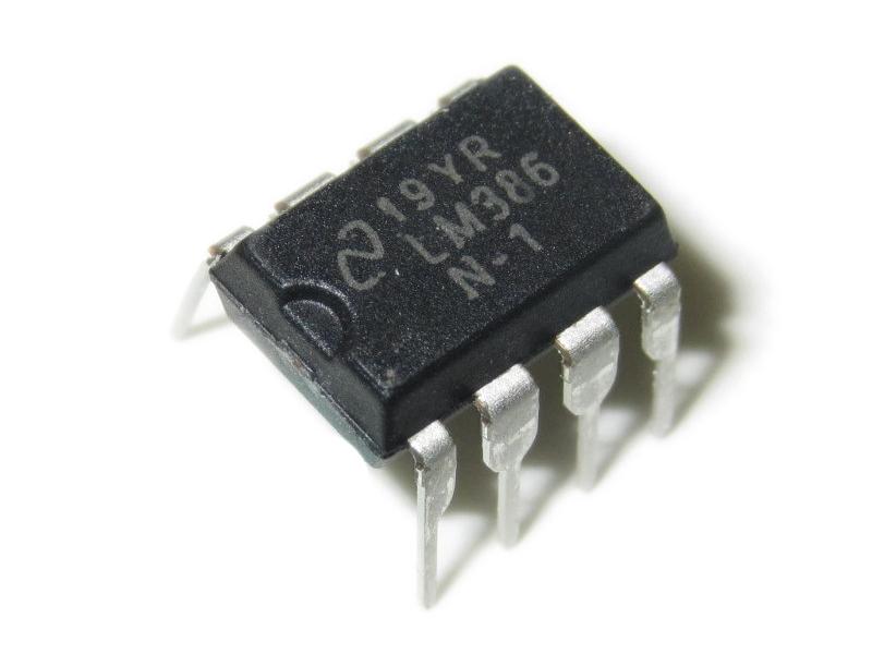 IC khuyếch đại LM386