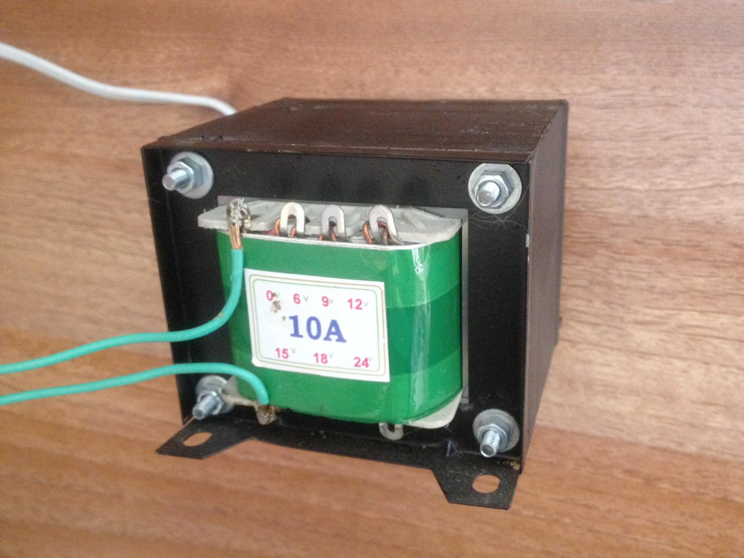 Nguồn biến áp 10A đối xứng