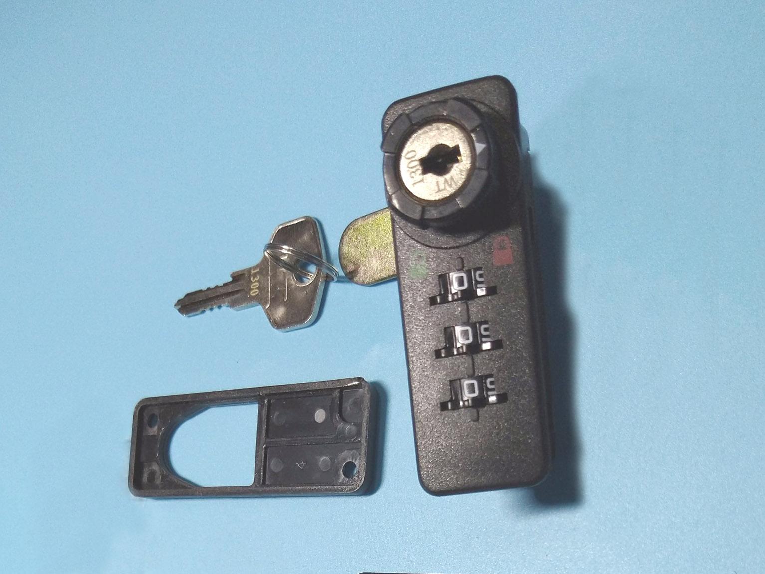 Khóa số  và chìa cho tủ tài liệu