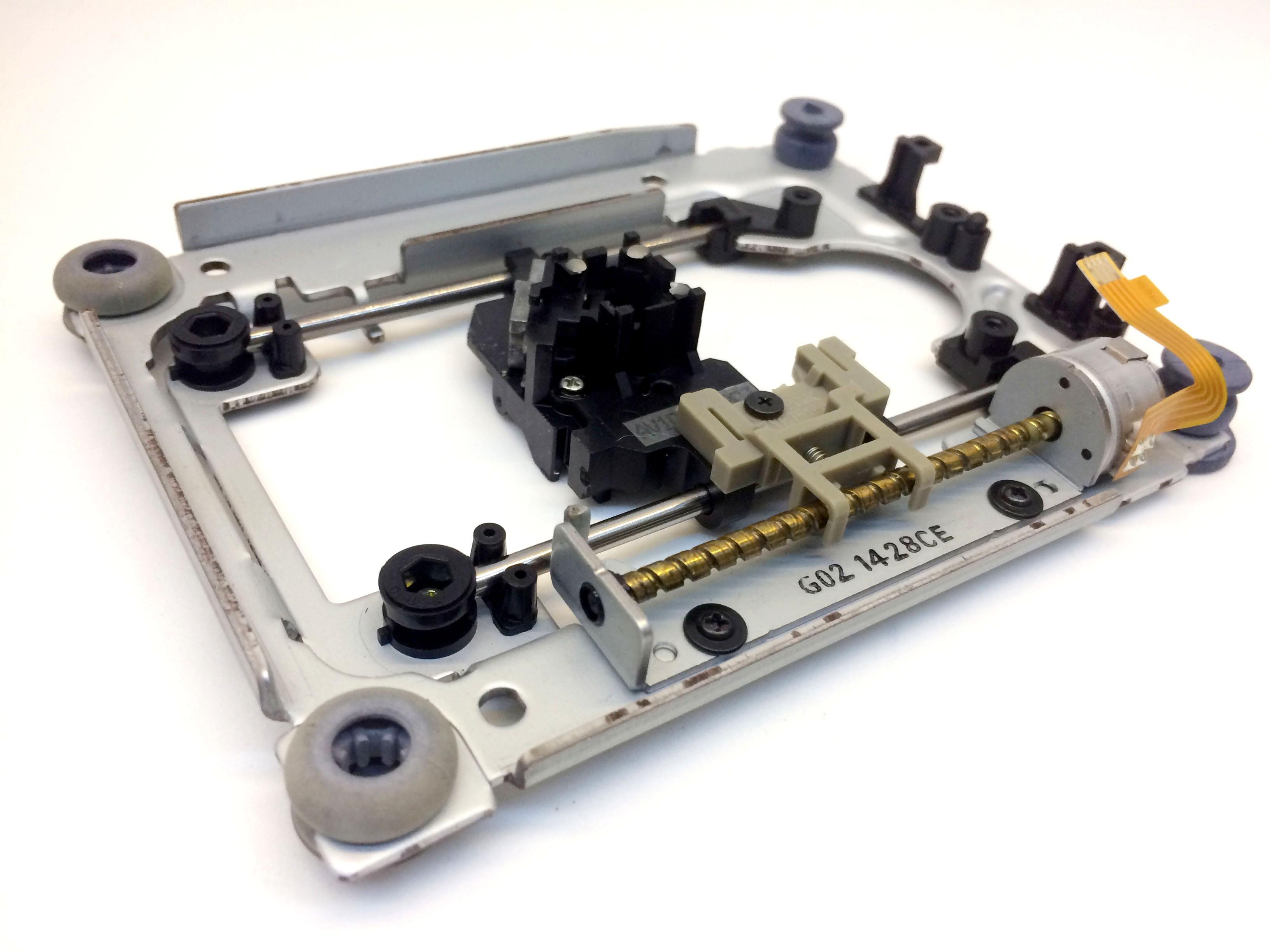 Khung CNC mini từ ổ đĩa CD loại 1