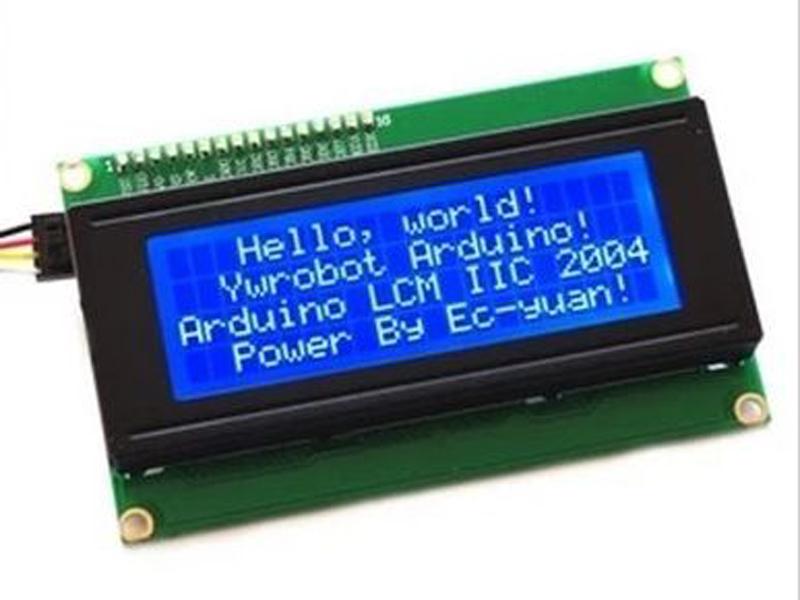 LCD  I2C 2004 màn hình xanh