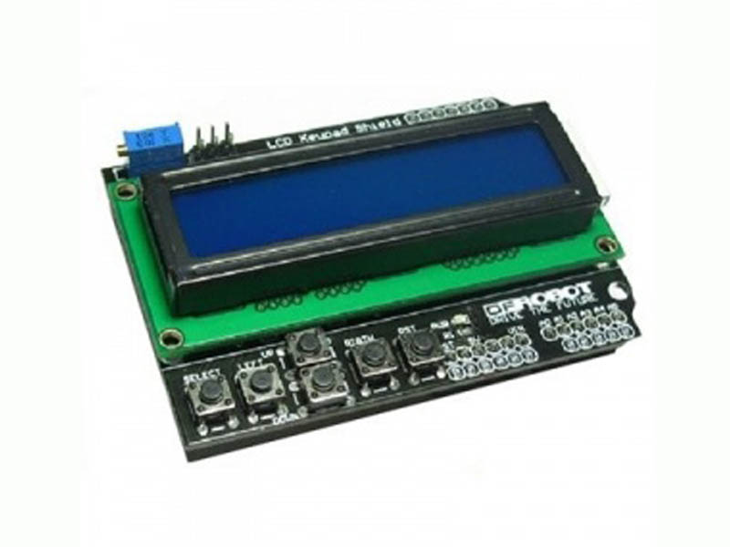 LCD key pad shield