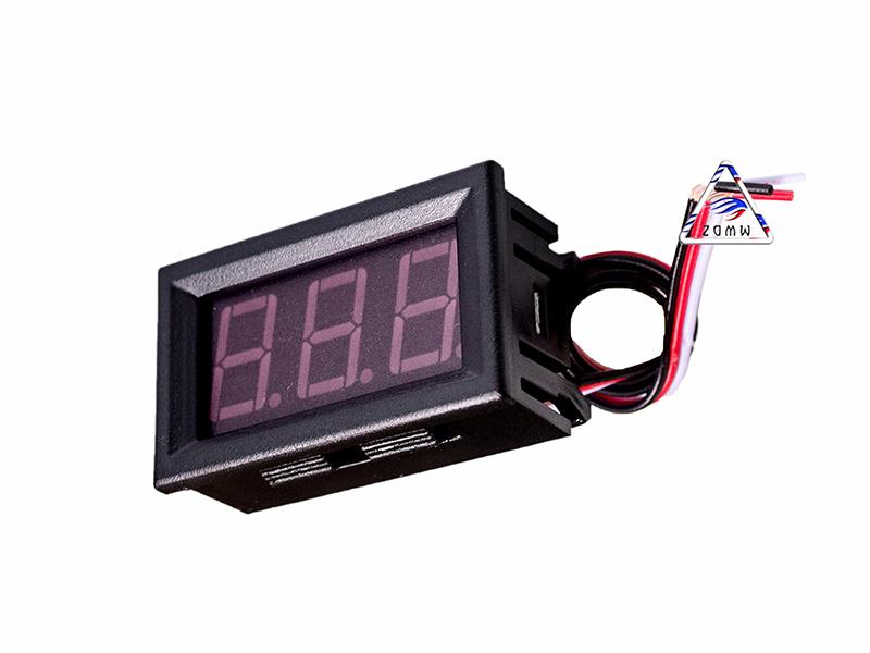 Led đo điện áp DC 0V - 30V 3 dây 0,56 inch