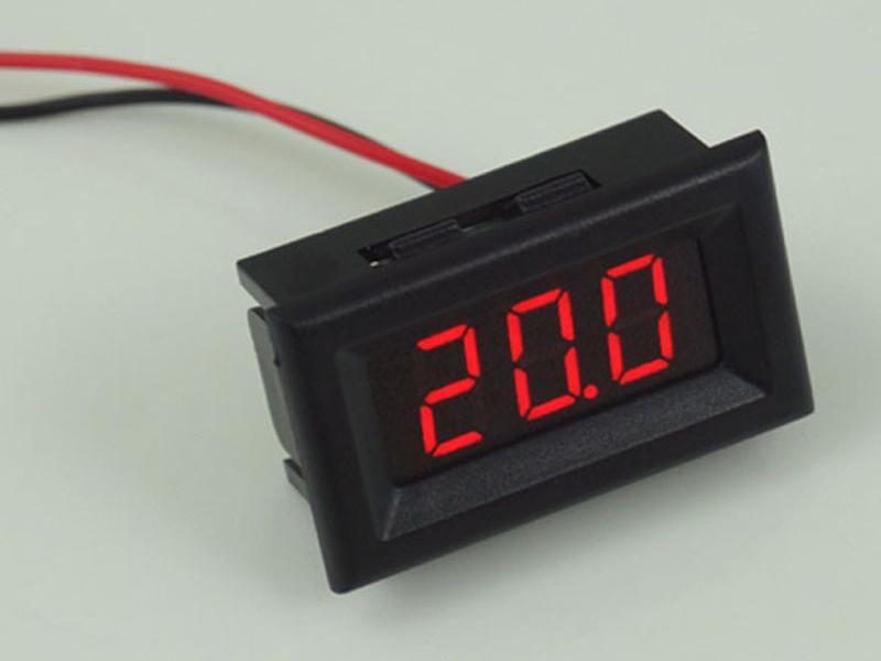 Led đo điện áp DC 5-120V