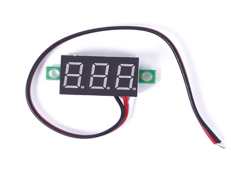 Led đo điện áp DC 2.5V - 40V 0.28inh