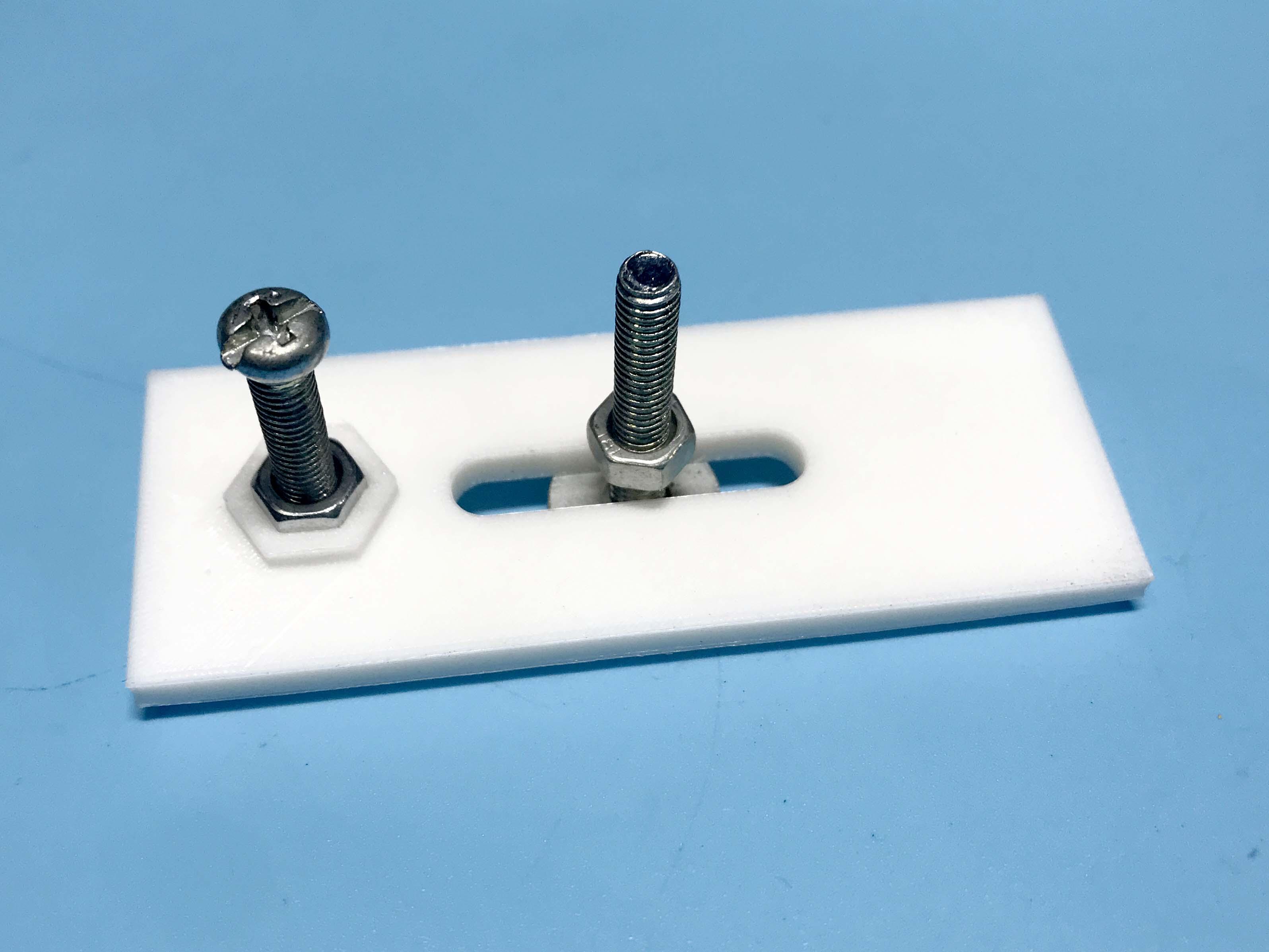 Mã gá bằng nhựa in 3D cho máy CNC mini