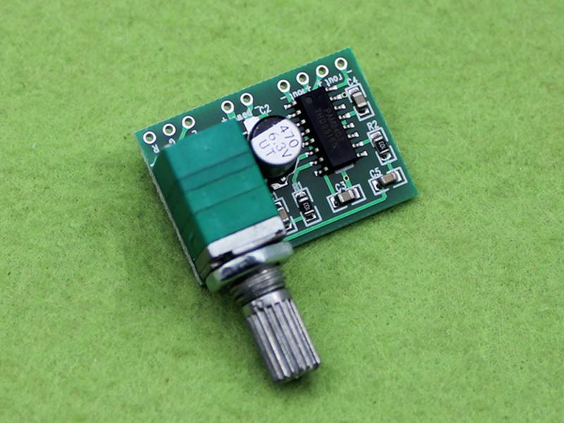 Mạch khuyếch đại 3W-5V có chiết áp PAM8403