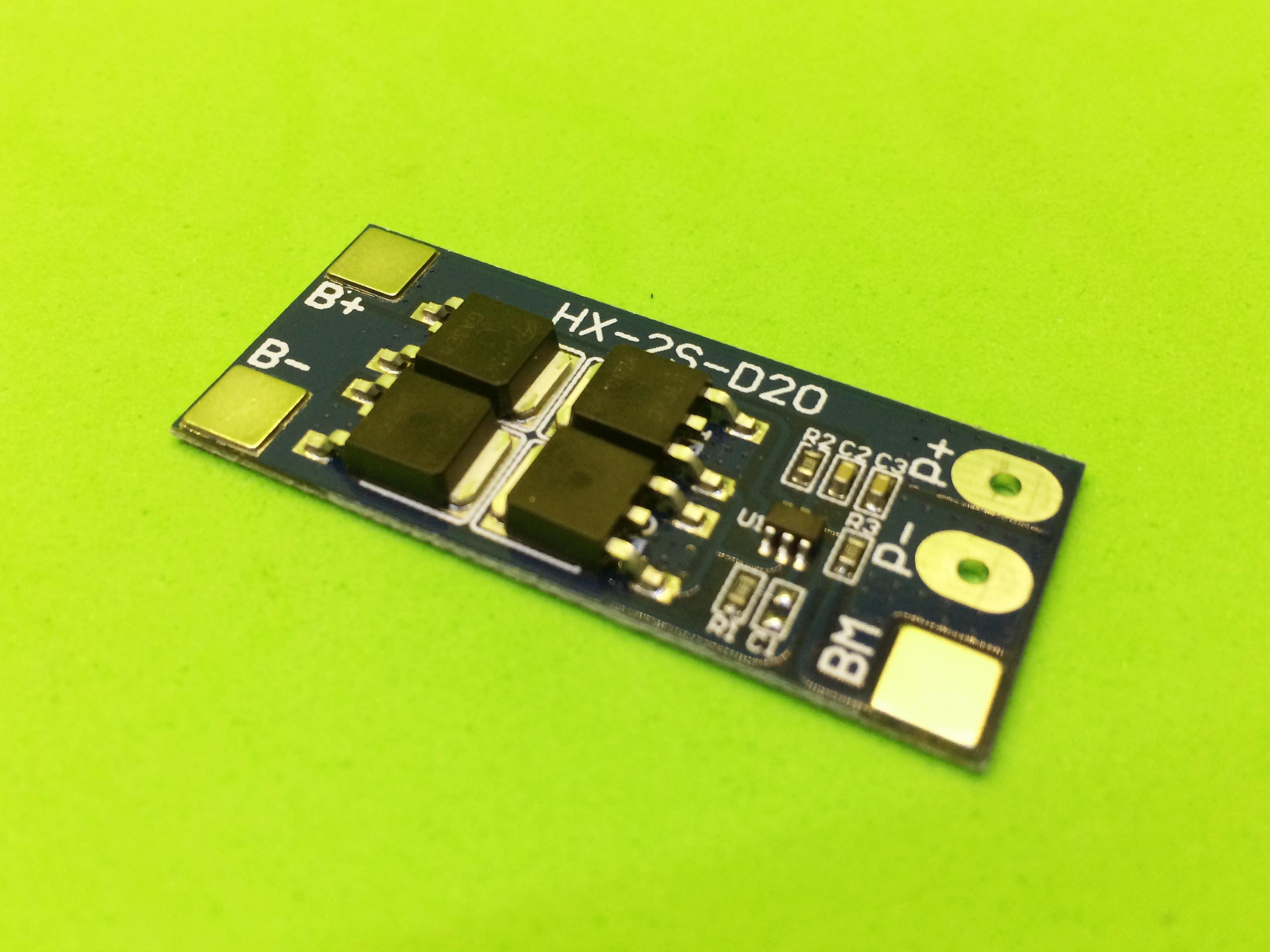 Mạch sạc và bảo vệ 2 pin 8.4V 13A